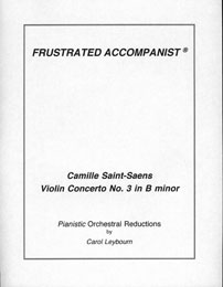 Saint-Saens - Violin Concerto #3 in B minor