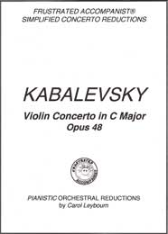 Kabalevsky - Violin Concerto in C major, Opus 48